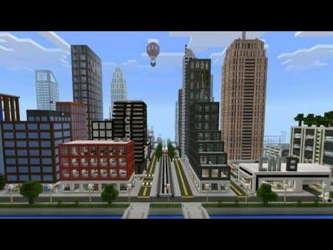 Minecraft şehir yapma bölüm 1