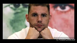 WHY I'M NOT SURPRISED BILLY JOE SAUNDERS ALLEGEDLY FAILED A DRUG TEST !
