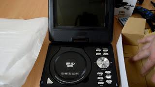 DVD Player portabil 7.5 Inch PNI NS769 cu Tuner TV, Radio, slot USB, Card SD si jocuri