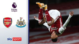 Aubameyang mit Doppelpack! | FC Arsenal - Newcastle United 3:0 | Highlights - Premier League