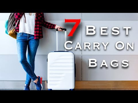 How to Pick the Perfect Carry On Luggage |  Travel Tips