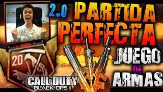 Juego De Armas! Partida Perfecta (20-0) En Live 2.0! Final - Black Ops 2 | TheGrefg