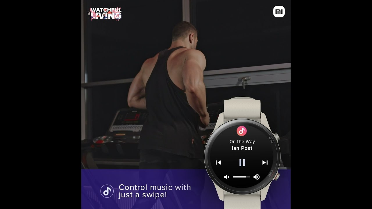 Mi Watch Revolve Active : Music Control