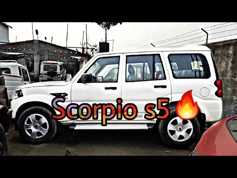 Mahindra 2018 Scorpio s5 | Scorpio s5 BS4 2WD - Full 360° Review- In Hindi  (HD)
