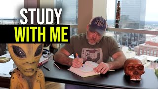 Study With Me (with ALIEN and music) Two 30 min sessions with break