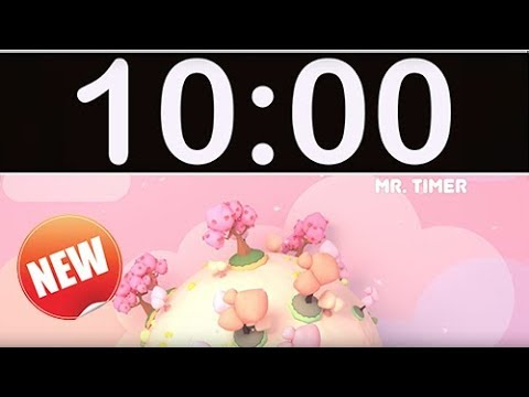 10 Minute Timer with Music for Kids, Children, Classroom!