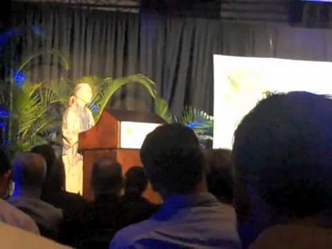 Jane Goodall speaking at ADP event at COP17 in Durban