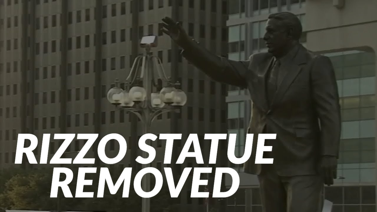 Frank Rizzo Statue Is Removed In Philadelphia: 'It Is Finally Gone ...