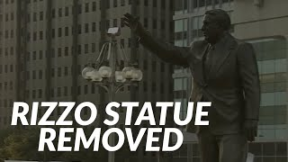 Frank Rizzo Statue Removed From Center City Philadelphia