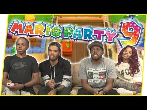 MAV3RIQ FAM COMPETITIVE GARDENING! – Mario Party 9 Gameplay