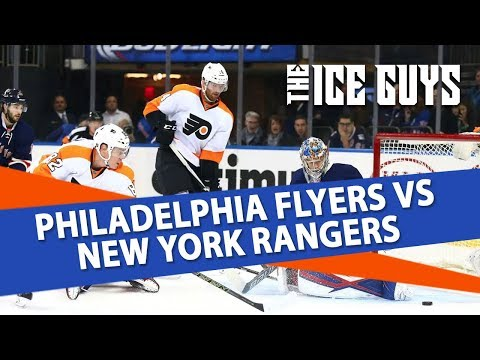 NHL Picks | Philadelphia Flyers vs. NY Rangers Preview | Ice Guys
