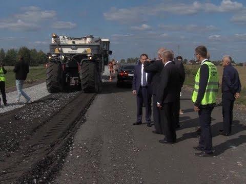 Евстифеев проинспектировал ремонт дорог Йошкар-Олы и Медведевского района