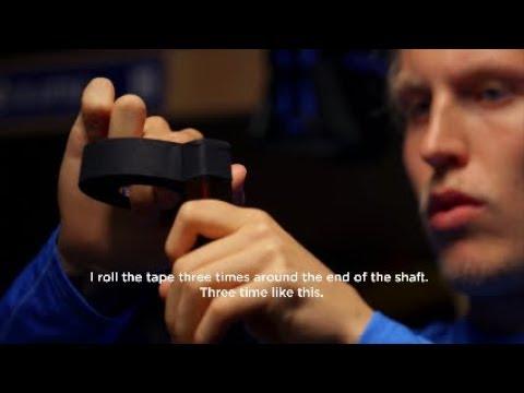 NHL Players Tape Their Stick (tutorial) | Feat. Laine, Kane, Kucherov & Eichel