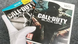 BLACK OPS ZOMBIES ON WII & WIIU... Call of Duty Black Ops 1 & 2 Gameplay