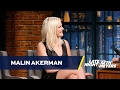 Malin Akerman Posed Nude with Jamie Dornan