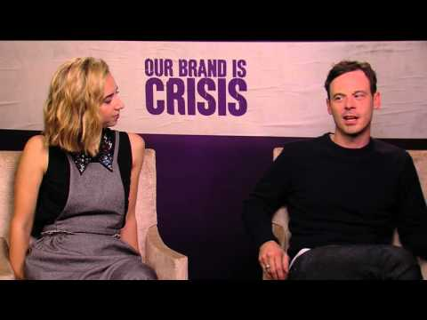 OUR BRAND IS CRISIS   with Zoe Kazan and Scoot McNairy