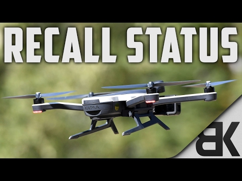 Tech Talk Tuesday: GoPro Karma Recall Status