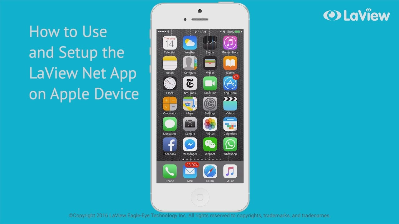 How to Set Up Your LaView Net App for iOS Devices