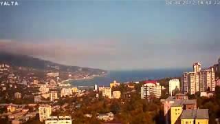 Уникальный архив 'Онлайн Камера - Ялта, Крым'. 2016-2017 за 10 минут. Проект закрыт.