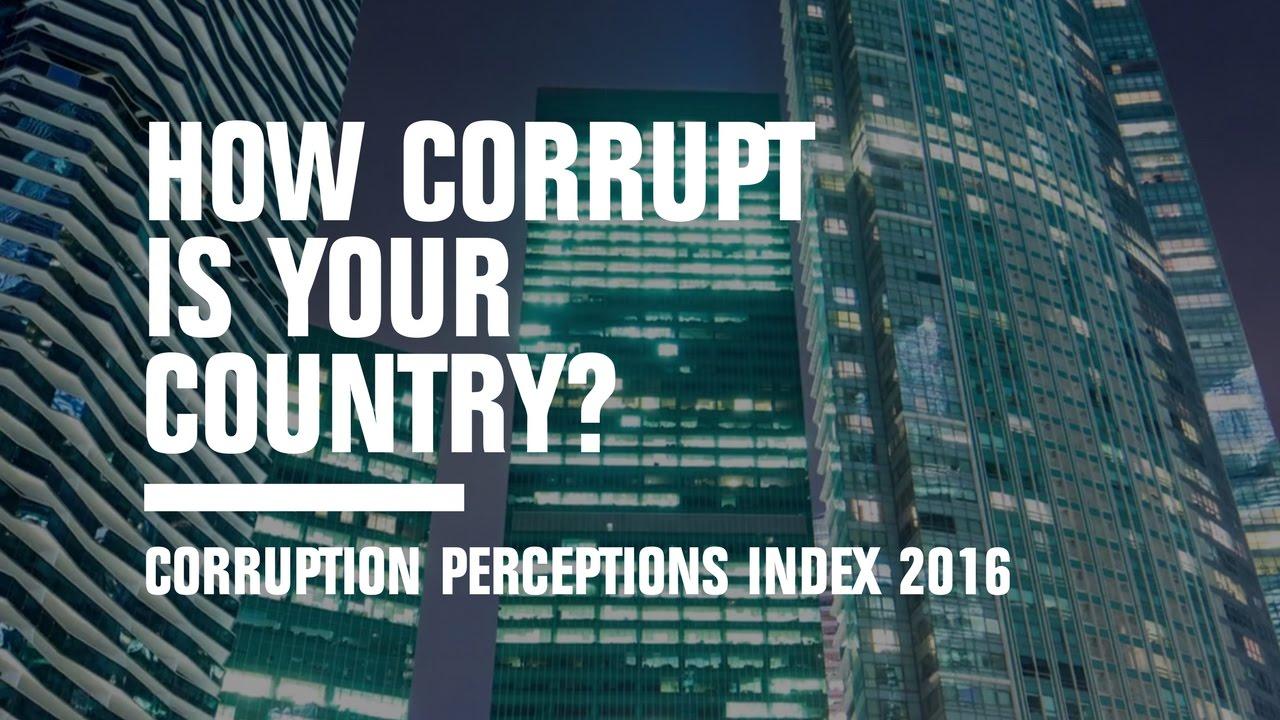 Corruption Perceptions Index 2016 - Transparency International