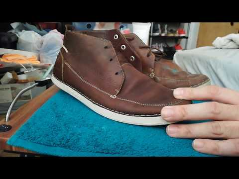 Cleaning & Restoring Timberland Full Leather Boots