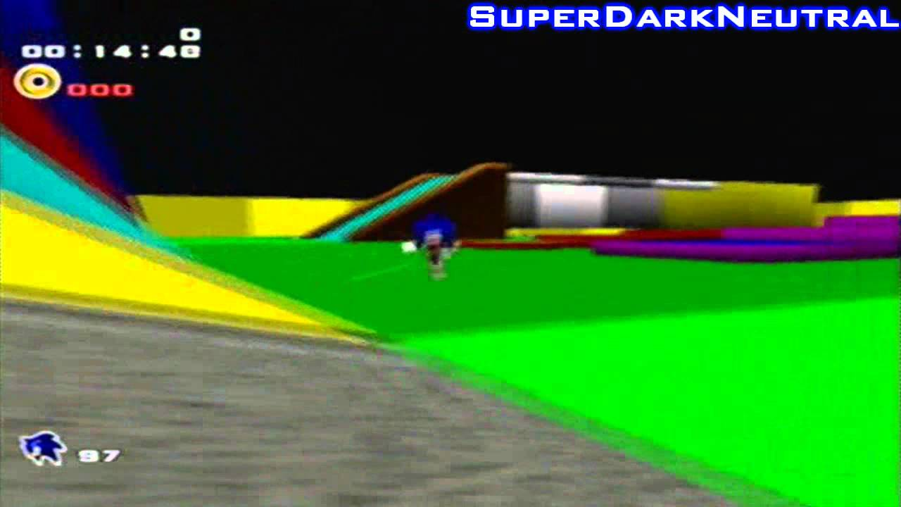 Sonic Adventure 2 Battle Hacks: Test Level (Code in Description)