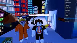Roblox Jailbreak We Rob All Store With Fans And Friends