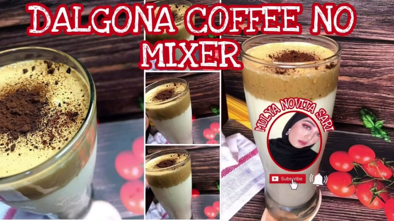 DALGONA COFFEE VIRAL | TRENDING DALGONA COFFEE | NO MIXER ...