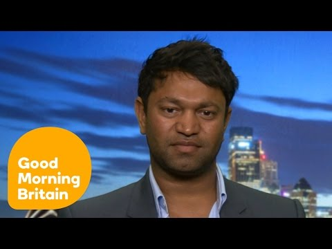 Saroo Brierley Describes His Journey Home   Good Morning Britain