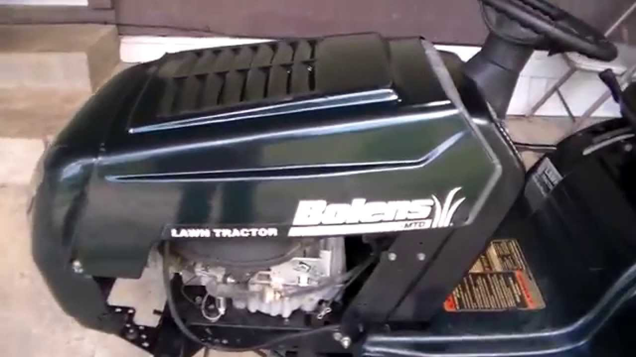 My 2005 Bolens Riding Lawn Mower Youtube