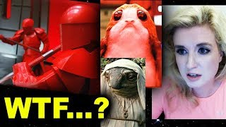 Star Wars The Last Jedi - Porgs, Praetorian Guard, Caretakers