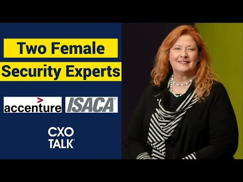 chief-information-security-officer:-female-security-experts-talk-women-in-tech-(cxotalk)