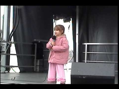 Kaitlyn Maher sings My Wish  2009 National Cherry Blossom Festival