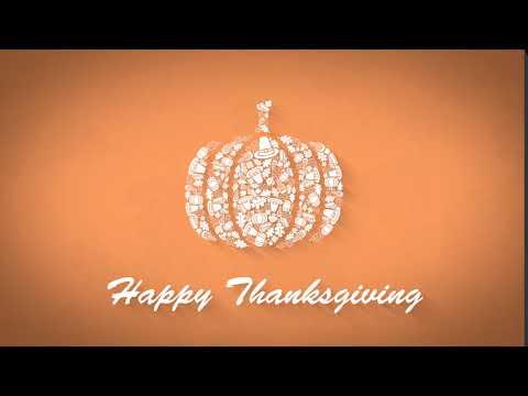 Nerado Black LOGO Thanksgiving Icon Shapes  Pumpkin
