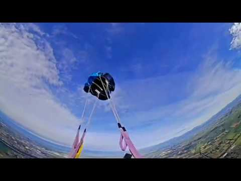 360° HD VR:Skydiving in 360° Virtual Reality with MGCOOL Cam 360