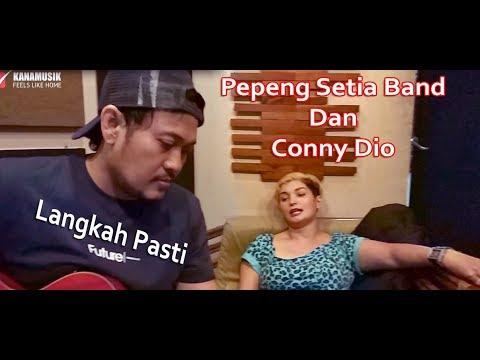 PEPENG SETIA BAND DAN CONNY DIO - LANGKAH PASTI (PROSES RECORDING)