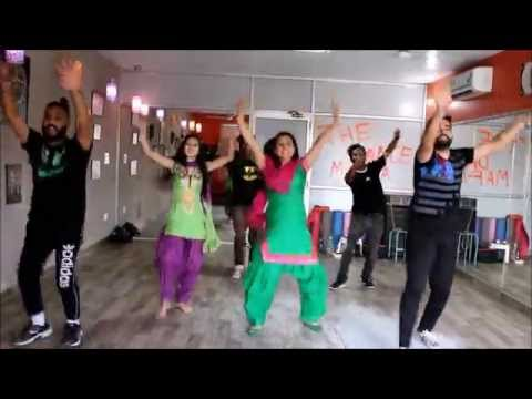 Yaar Bamb   Jattan Ton Bina  Jass Bajwa   lyrical bhangra by THE DANCE MAFIA ,MOHALI,
