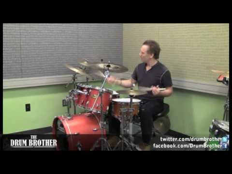 Larry Finn (Berklee Teacher) - 'Applying Rudiments to the Groove' drum tips