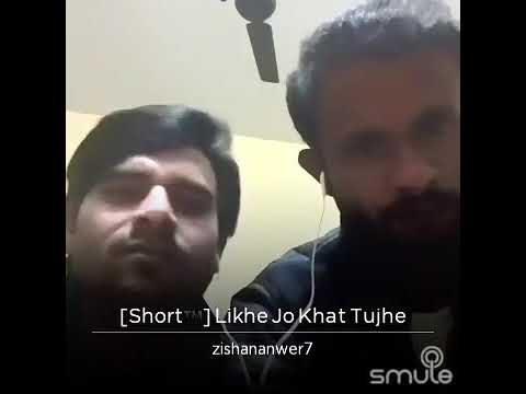 Second video likhe jo khat tujhe by nisar and zeeshan anwar pleaze subscribe(2)