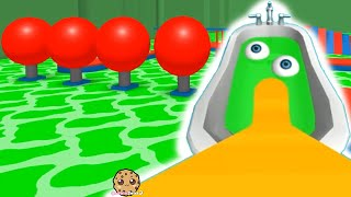 Swimming In SLIME Pool Let's Play Random Roblox Games Video