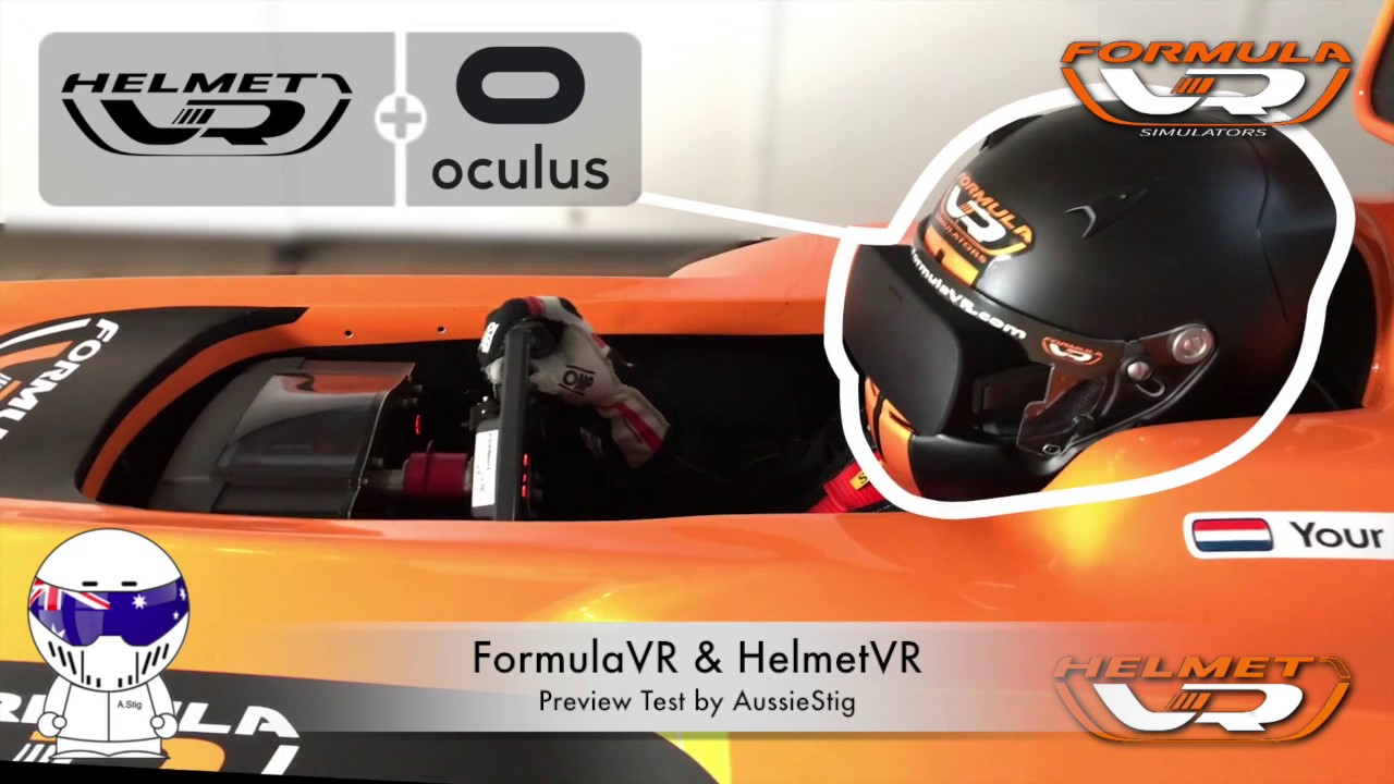 f94cac333b2 FormulaVR   HelmetVR Preview Test By AussieStig. SimRacing with AussieStig