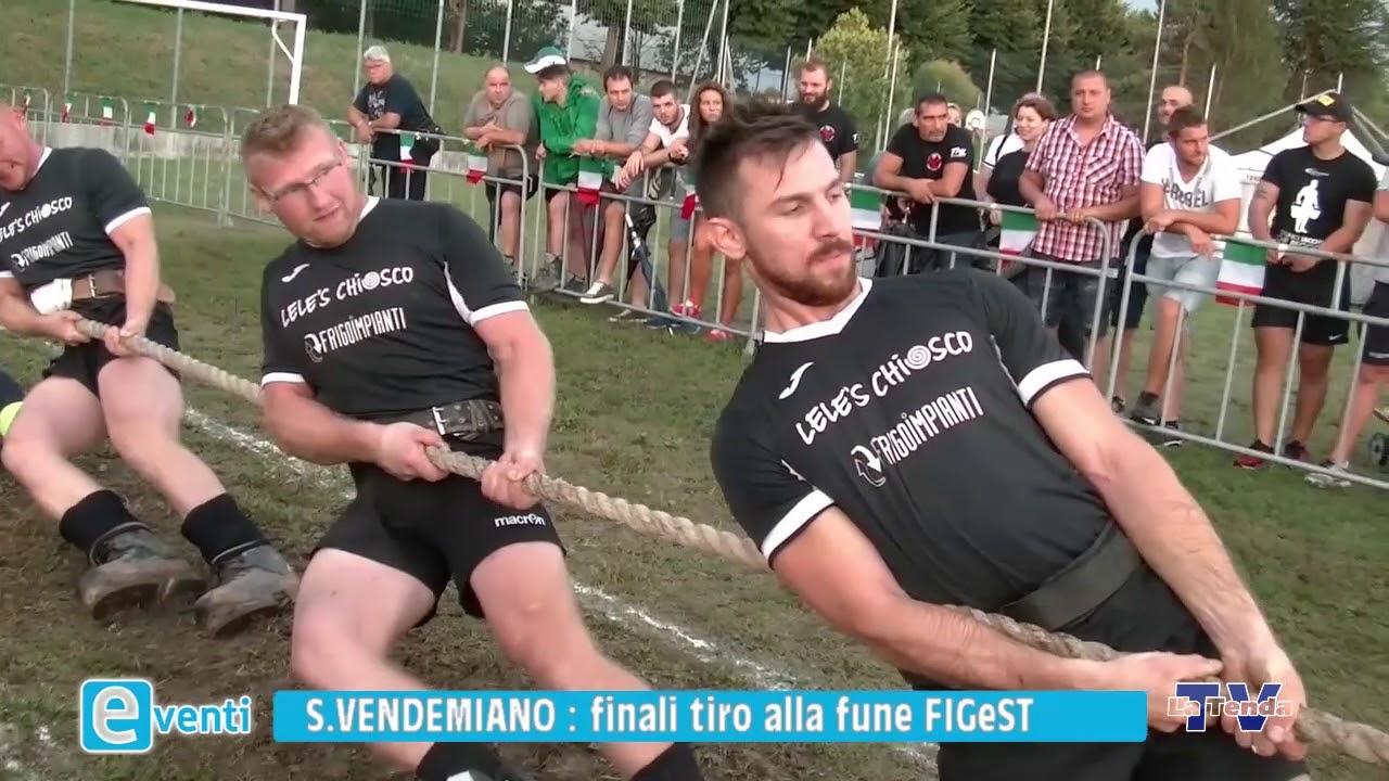 EVENTI - San Vendemiano: finali tiro alla fune FiGeST