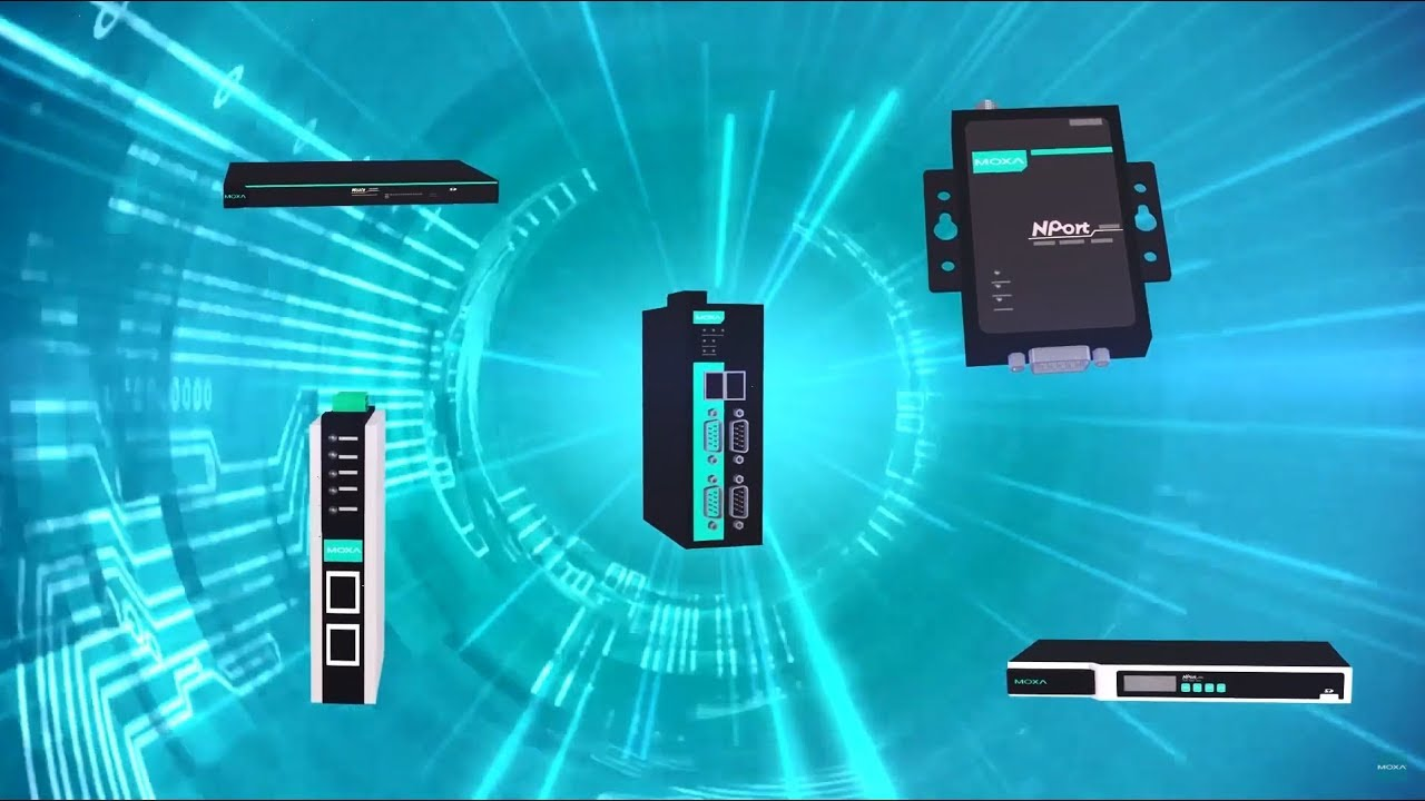Simple Serial-to-Ethernet Solutions | Moxa