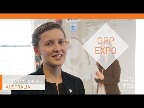 Poppy, student, GPP Expo
