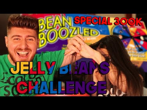 JELLY BEANS CHALLENGE cu Alexandra - SPECIAL 300K!!!