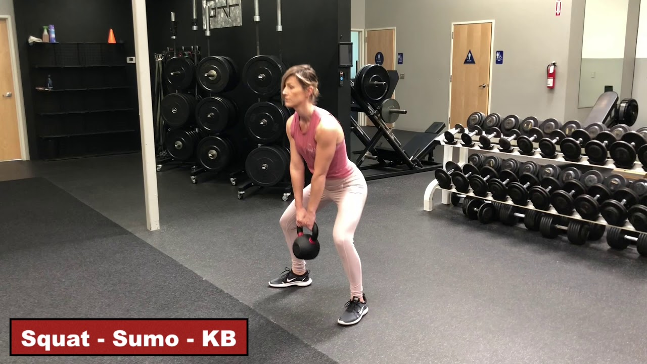 BW - Sumo Squat with Toe Hold - YouTube