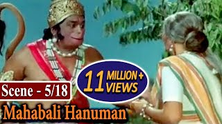 Mahabali Hanuman Scene 5/18 - Hanuman asks Shabari about Sriram