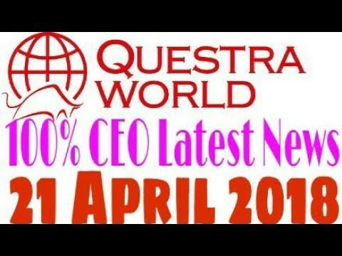 Questra world Latest News 21 April 2018