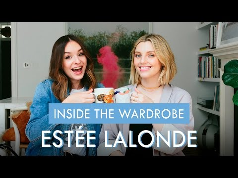 INSIDE THE WARDROBE OF: ESTÉE LALONDE | What Olivia Did
