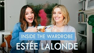 One of What Olivia Did's most viewed videos: INSIDE THE WARDROBE OF: ESTÉE LALONDE | What Olivia Did